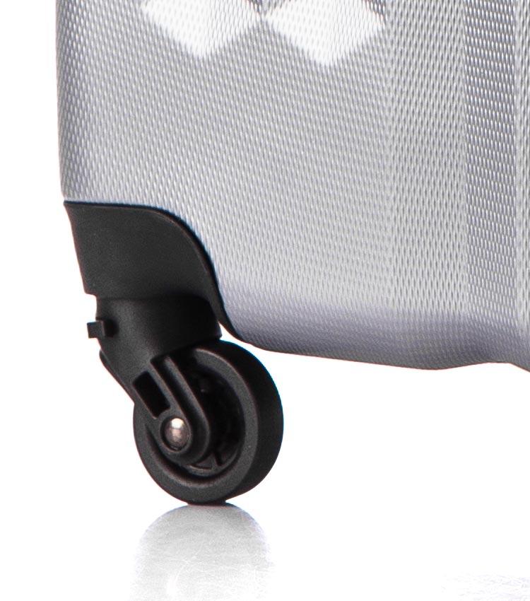 Большой чемодан спиннер Lcase Phuket light-grey (76 см)