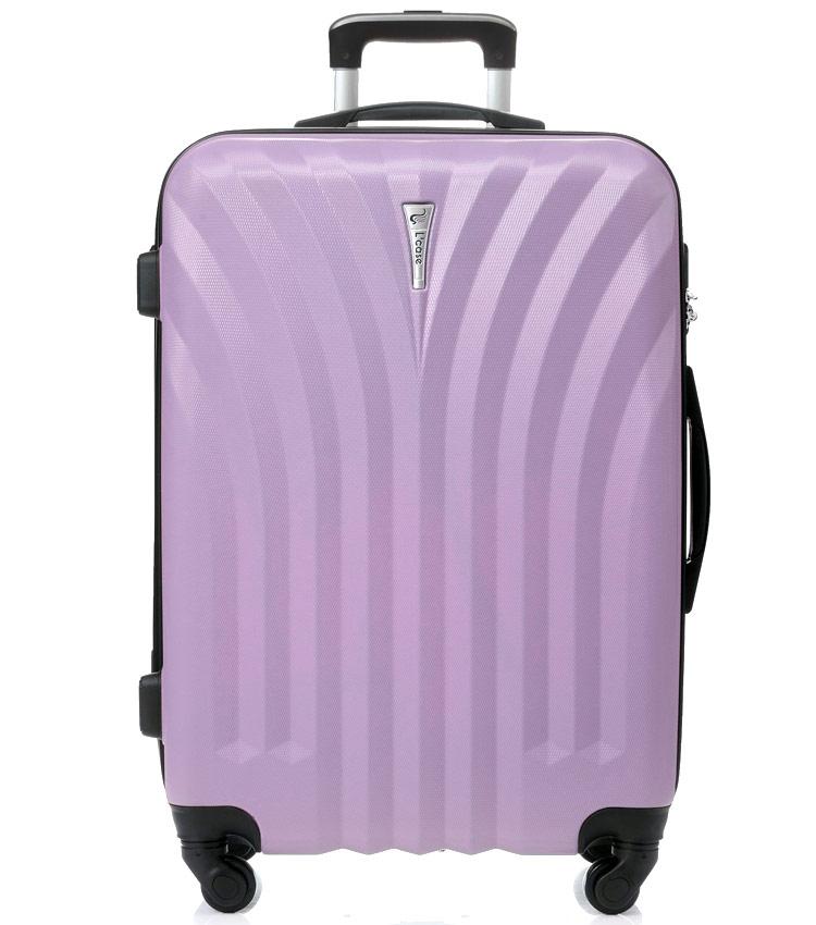 Большой чемодан спиннер Lcase Phuket lilac (76 см)
