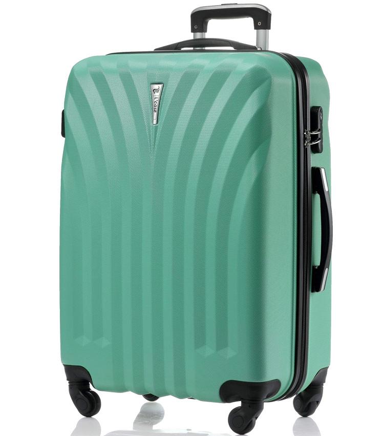 Большой чемодан спиннер Lcase Phuket mint (76 см)