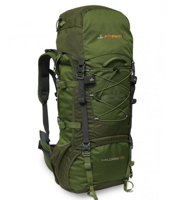 Туристический рюкзак Pinguin explorer-60 green