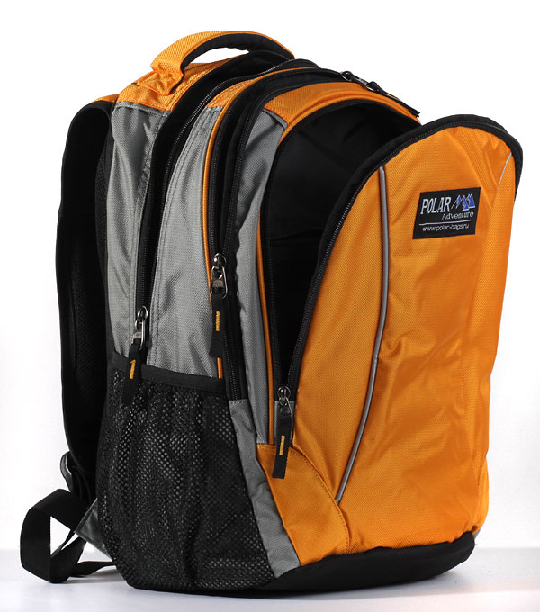 Школьный рюкзак Polar 1371 оранжевый