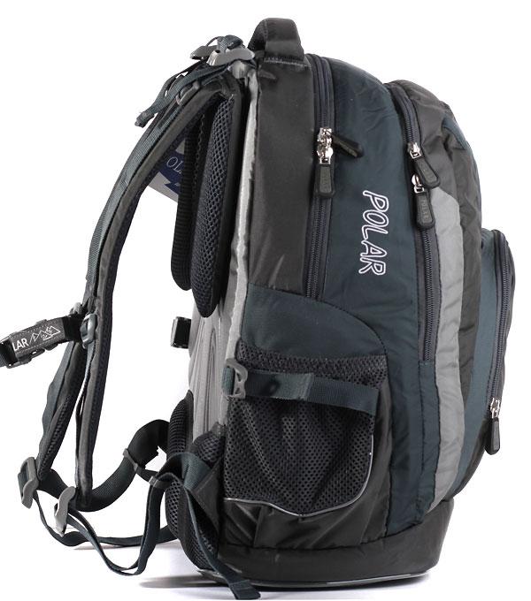 Школьный рюкзак Polar 221 серый