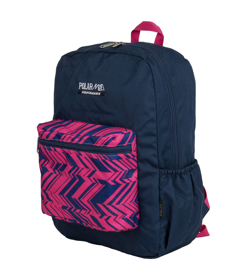 Рюкзак Polar 2199 blue-pink