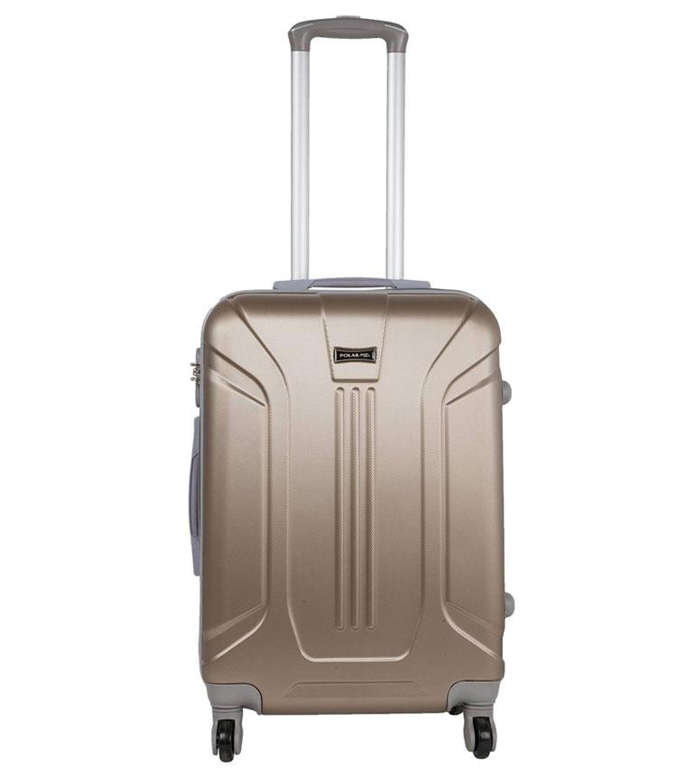 Малый чемодан-спиннер Polar 22059 coffee (61 см)