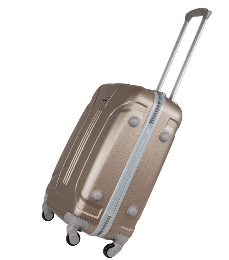 Средний чемодан-спиннер Polar 22059 coffee (68 см)