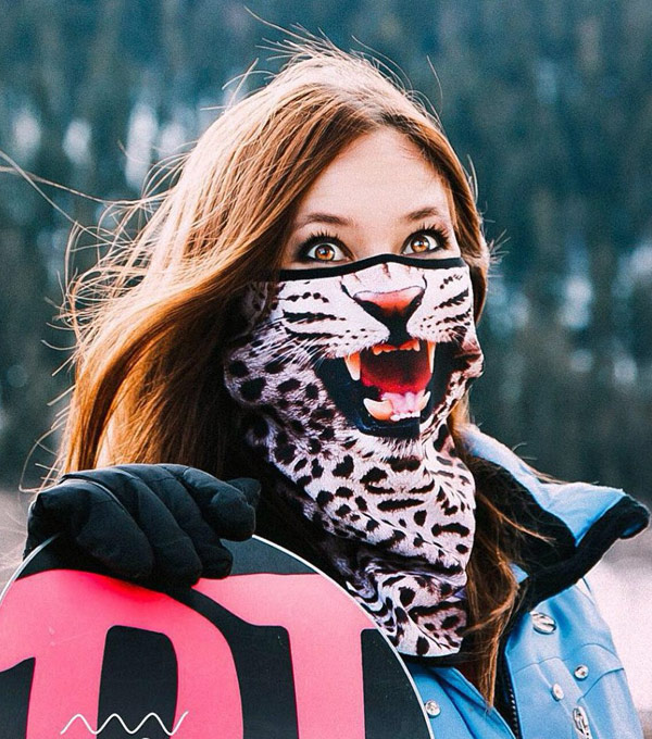 Бандана-шарф PRIMO Original Snow-Leo