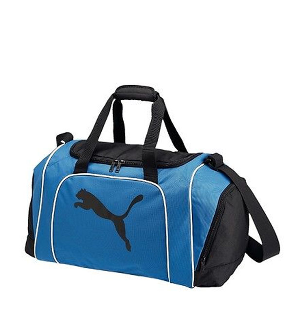 Спортивная сумка Puma Team Cat Medium Bag blue