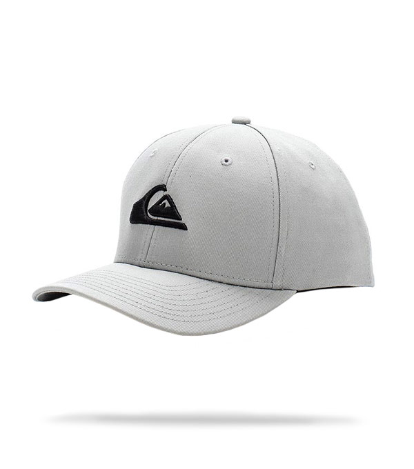 Бейсболка Quiksilver Decades grey