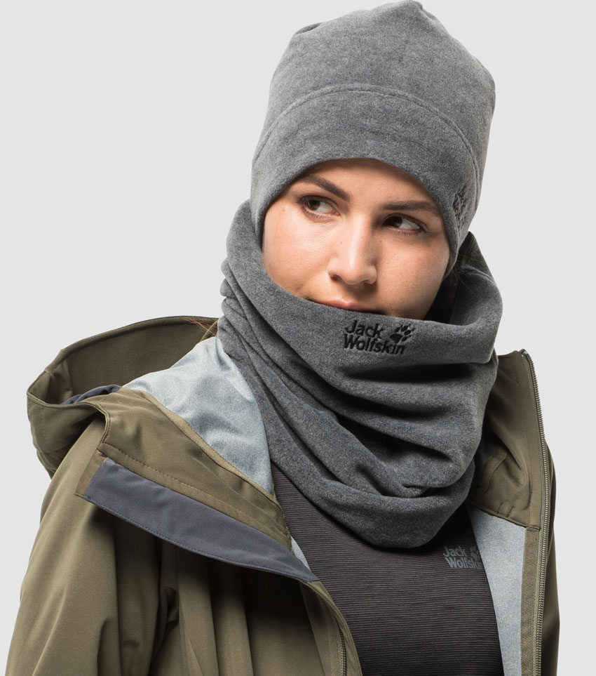 Шапка Jack Wolfskin REAL STUFF Grey Heather
