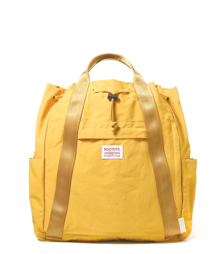 Рюкзак Rootote ceoroo yellow