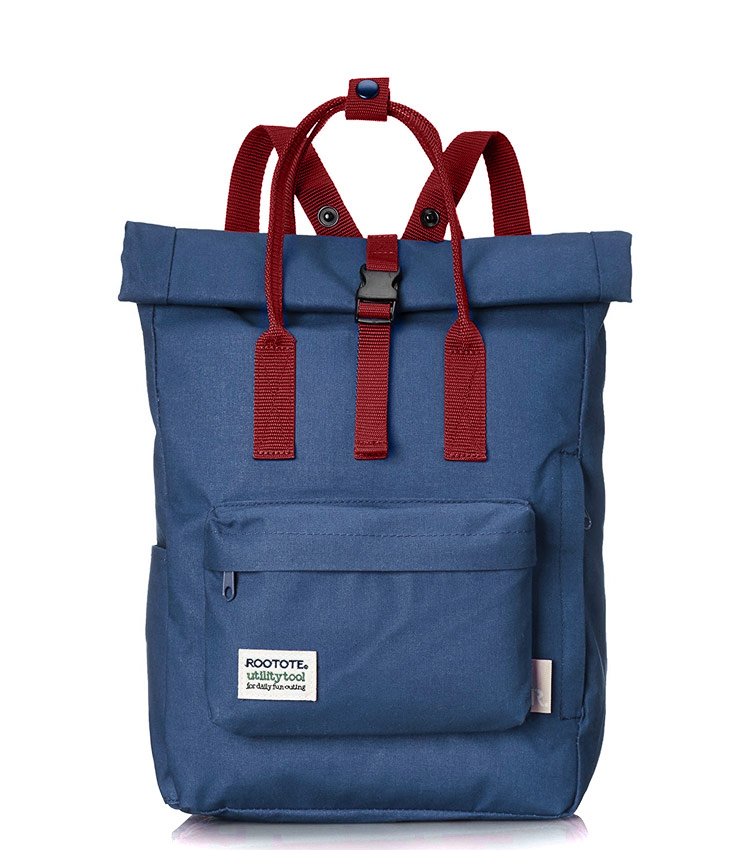 Рюкзак Rootote utility blue-red