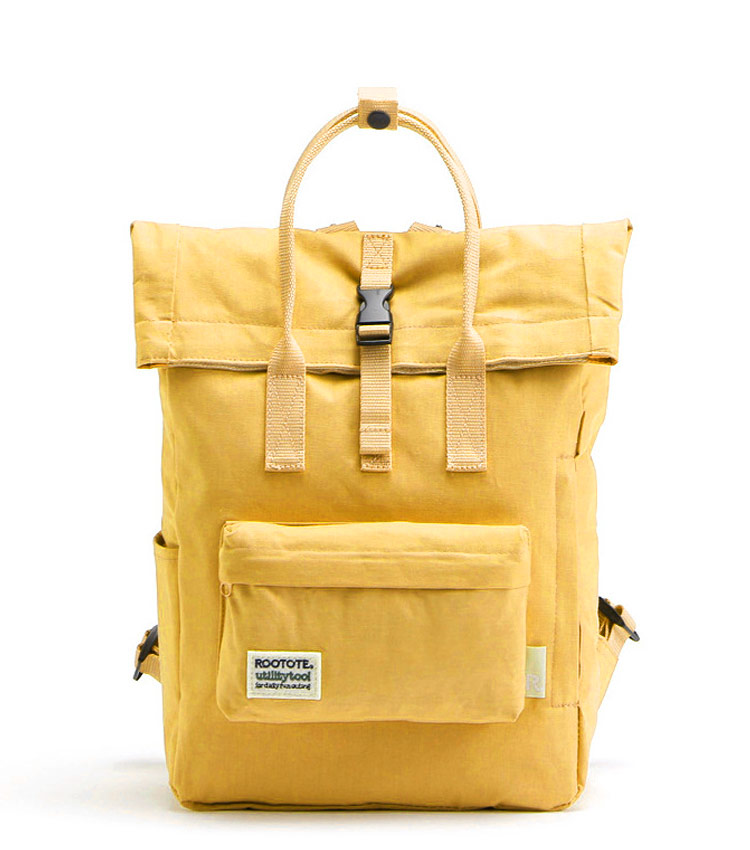 Рюкзак Rootote utility yellow