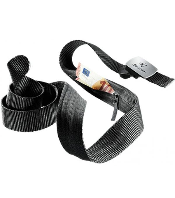 Ремень с потайным карманом Deuter Security Belt black