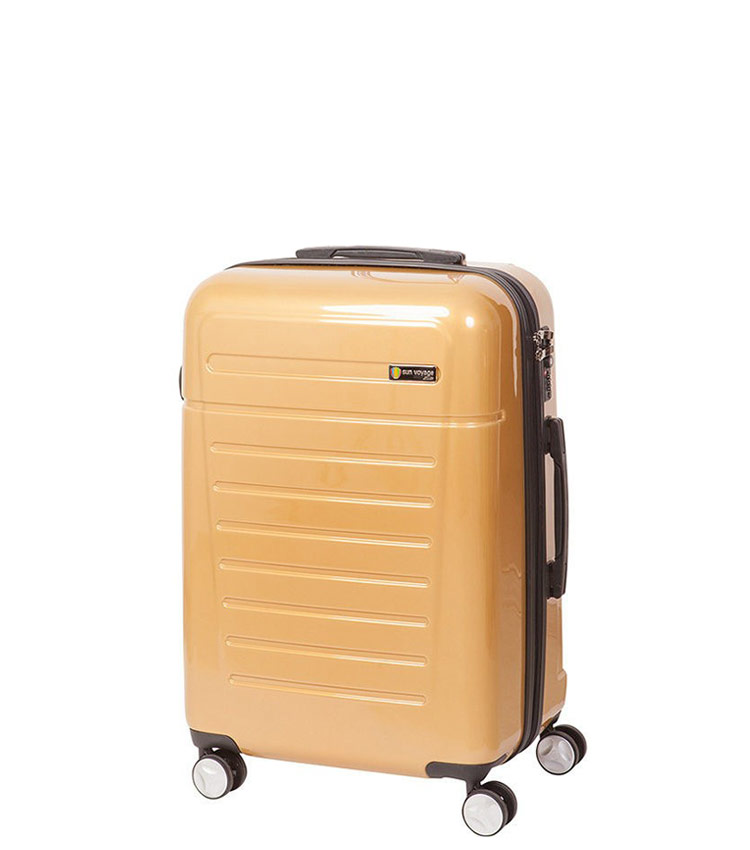 Малый чемодан Sun Voyage TALISMAN SV018-АC061-20 - gold
