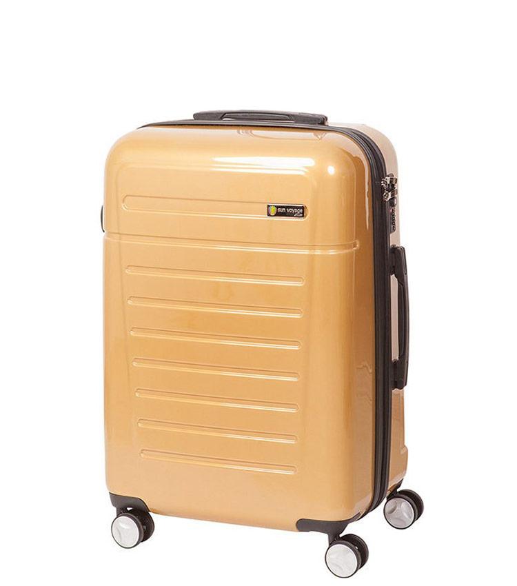 Средний чемодан Sun Voyage TALISMAN SV018-АC061-24 - gold