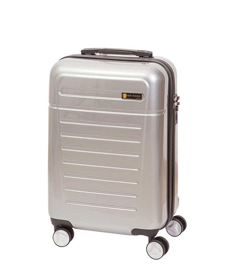 Средний чемодан Sun Voyage TALISMAN SV018-АC062-24 - silver