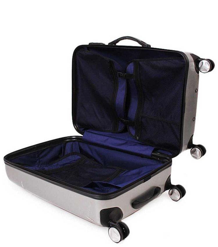 Малый чемодан Sun Voyage TALISMAN SV018-АC062-20 - silver