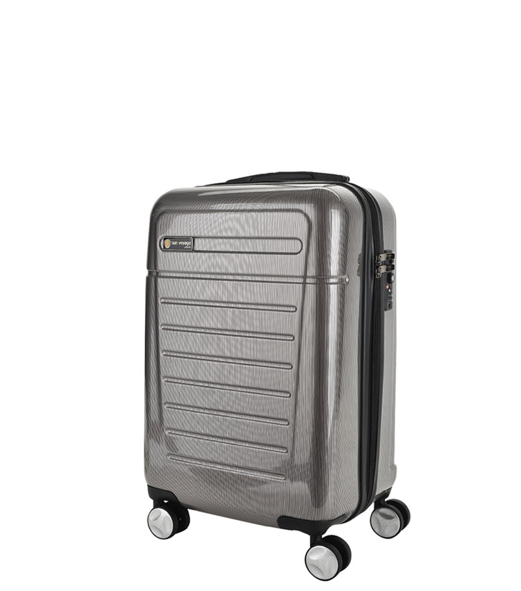 Малый чемодан Sun Voyage TALISMAN SV018-АC065-20 - grey