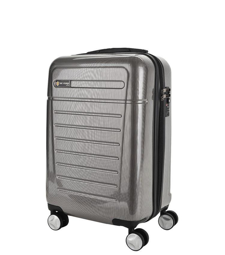 Средний чемодан Sun Voyage TALISMAN SV018-АC065-24 - grey