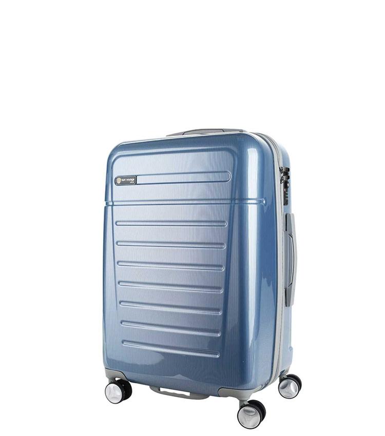 Малый чемодан Sun Voyage TALISMAN SV018-АC067-20 - blue