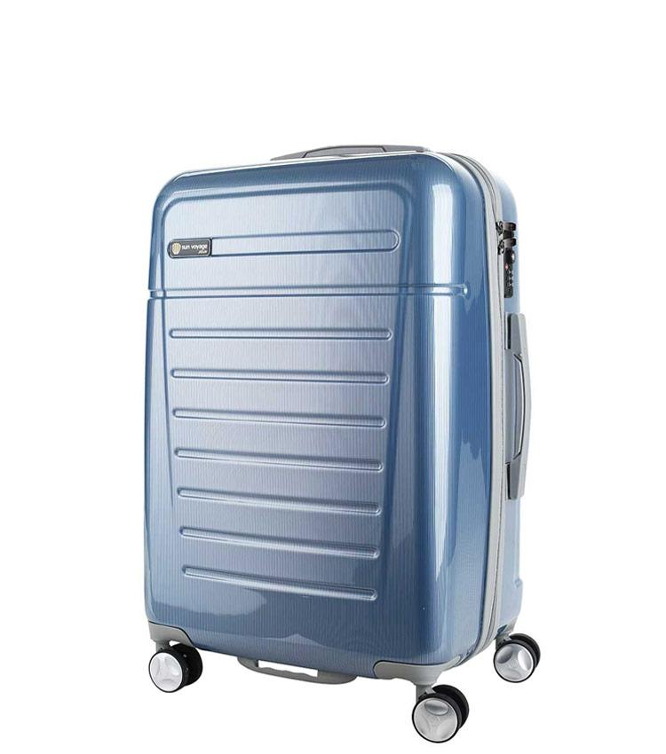 Средний чемодан Sun Voyage TALISMAN SV018-АC067-24 - blue