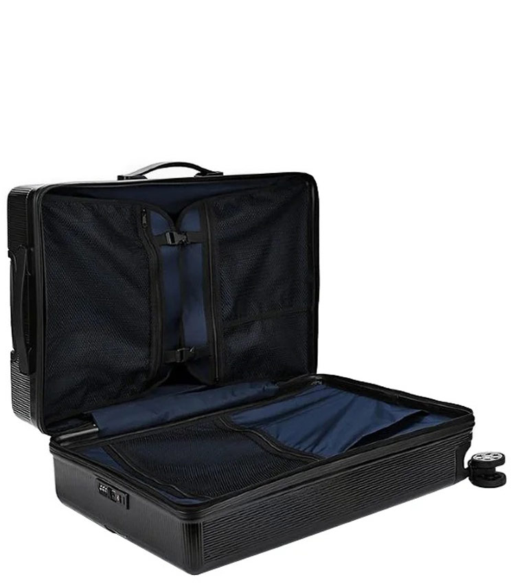 Большой чемодан Sun Voyage BOX SV037-АC115-28 - чёрный