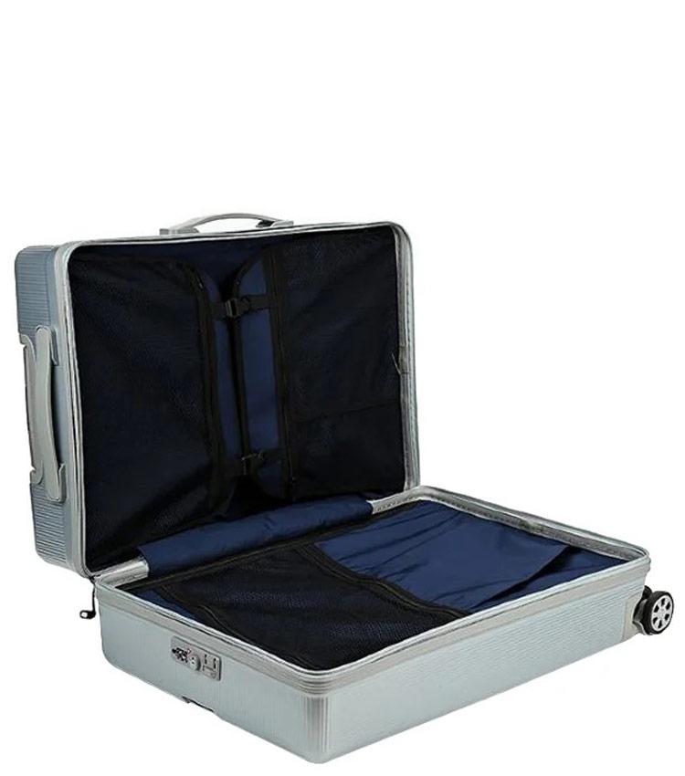 Малый чемодан Sun Voyage BOX SV037-АC116-20 - серебро