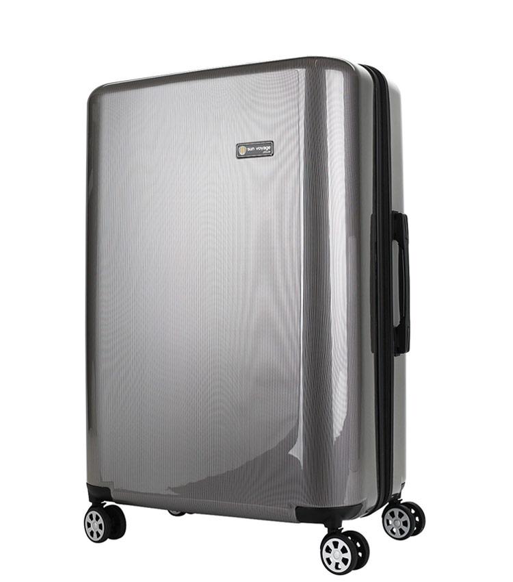 Большой чемодан Global Case Elit SV038-АC065-28 - серебро