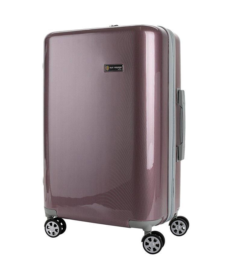 Большой чемодан Global Case Elit SV038-АC066-28 - бордовый