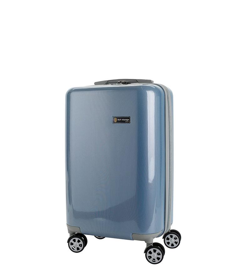 Малый чемодан Global Case Elit SV038-АC067-20 - голубой