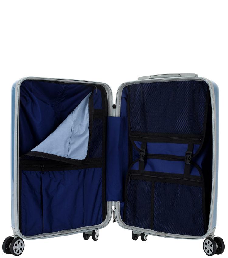 Средний чемодан Global Case Elit SV038-АC067-24 - голубой