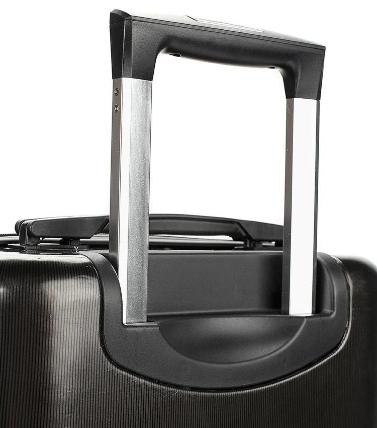Малый чемодан Global Case Elit SV038-АC068-20 - чёрный
