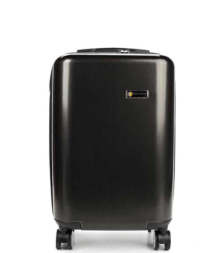 Средний чемодан Global Case Elit SV038-АC068-24 - чёрный