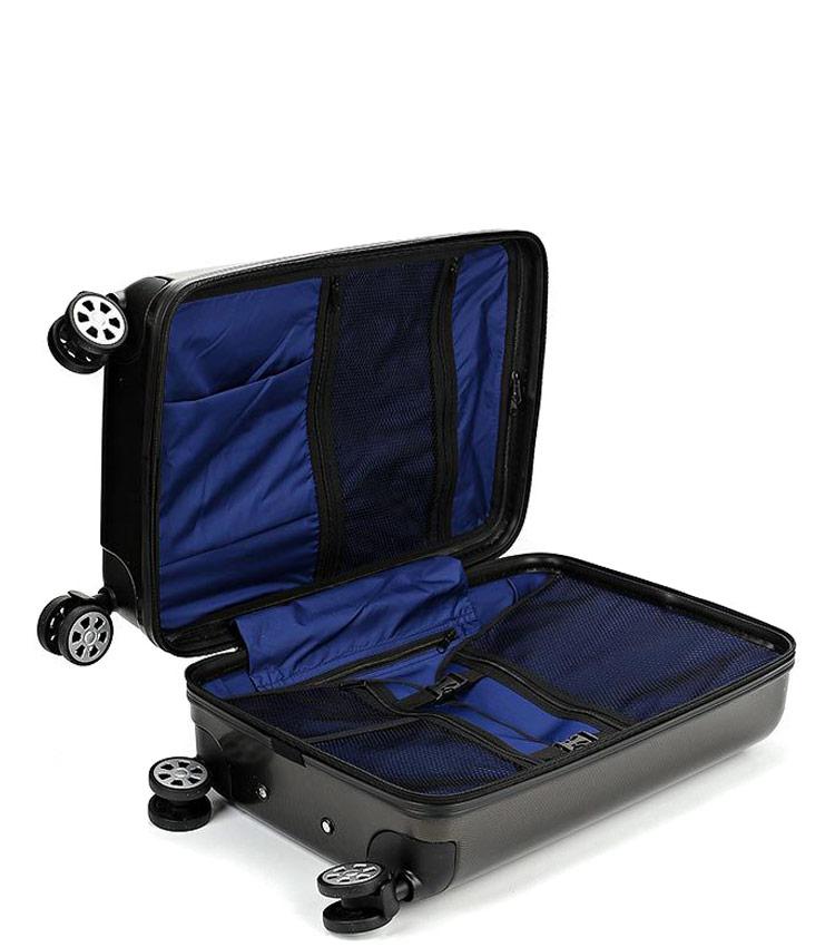 Большой чемодан Global Case Elit SV038-АC068-28 - чёрный