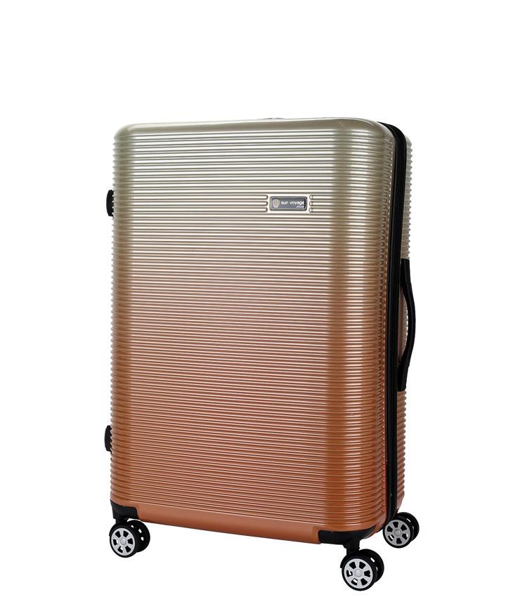 Средний чемодан Global Case Elit SV042-АC156-24 - оранжевый
