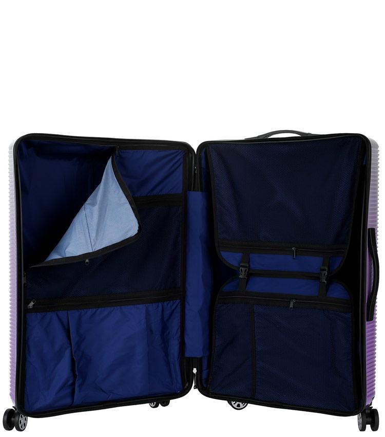 Малый чемодан Global Case Elit SV042-АC157-20 - фиолетовый
