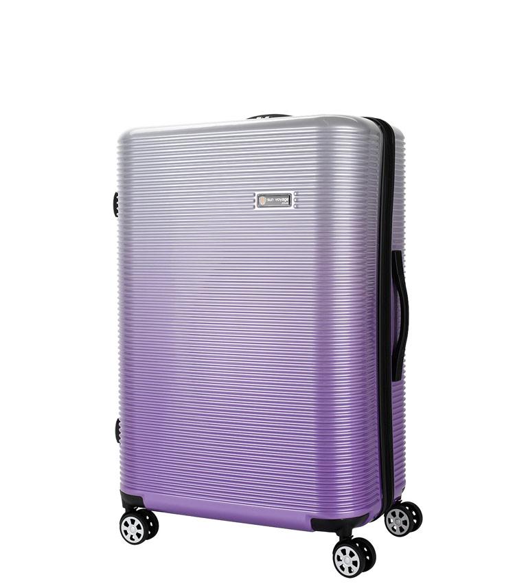 Средний чемодан Global Case Elit SV042-АC157-24 - фиолетовый