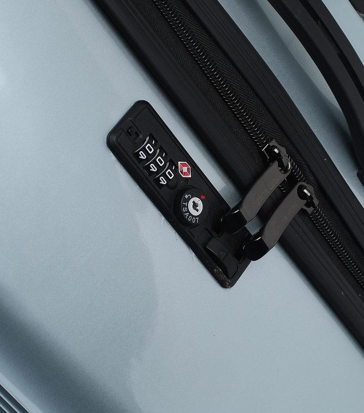 Малый чемодан Global Case Elit SV042-АC179-20 - синий