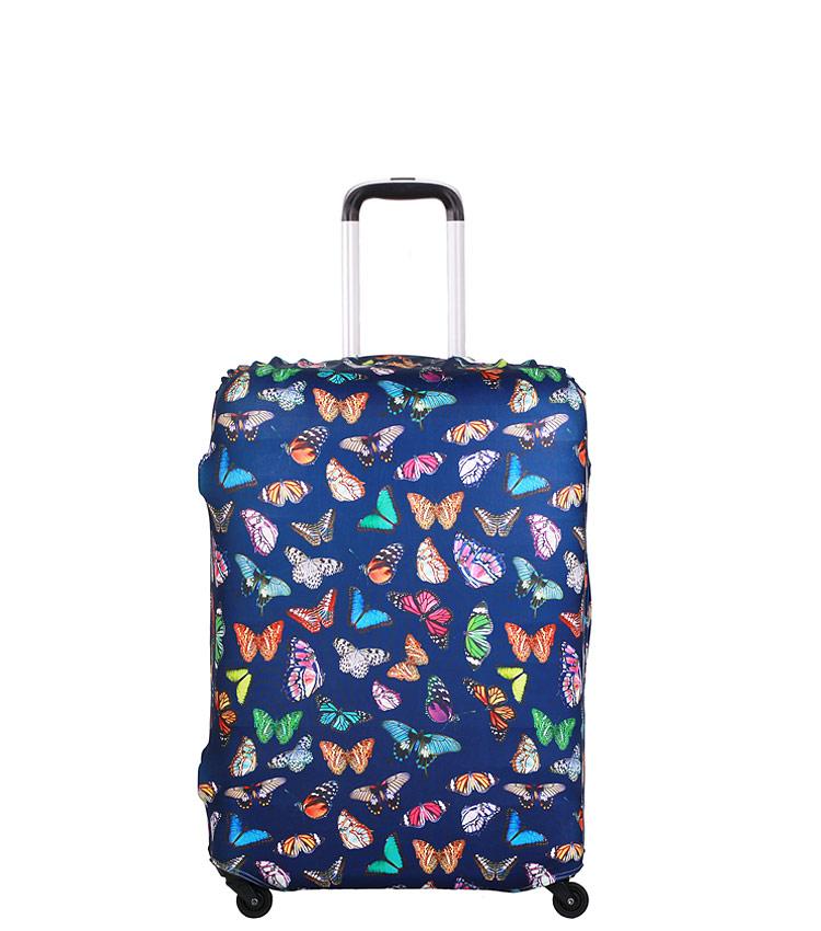Чехол на чемодан Little Chili Butterflies  ~S~ (48–56 см)