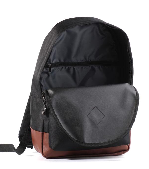 Рюкзак Studio58 M310 черный с кожзамом