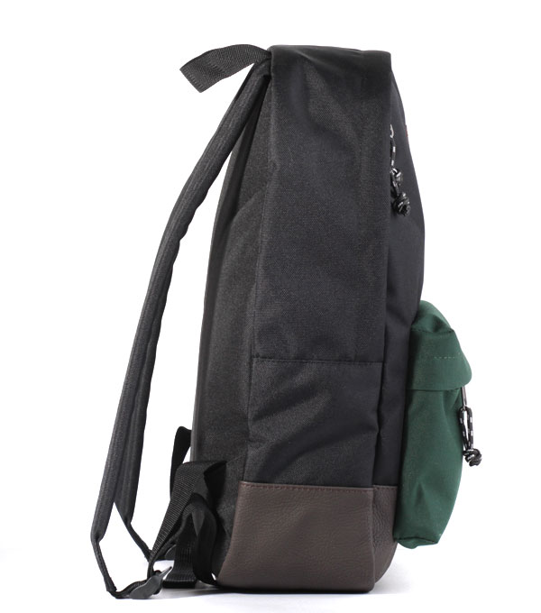 Рюкзак Studio58 M310 черный-зеленый-кожзам