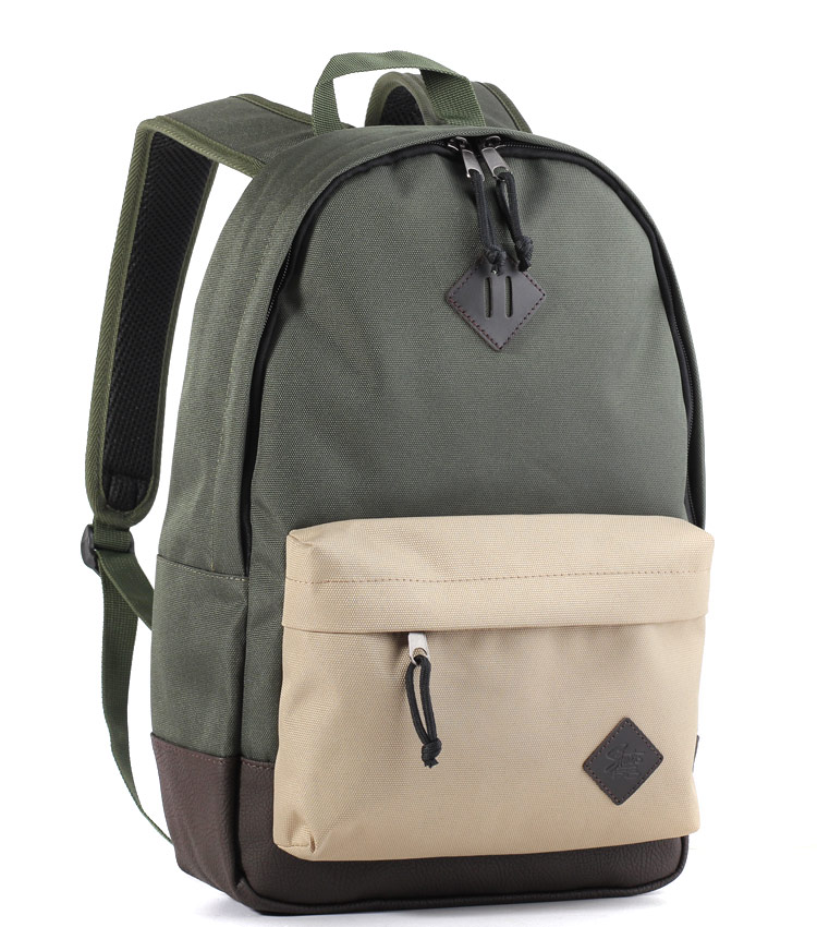 Рюкзак Studio58 M310 khaki-bieje-d.leather