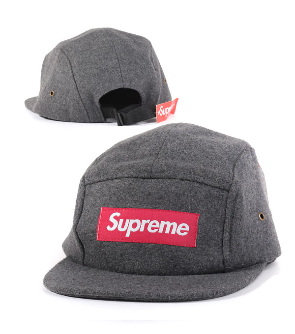 Кепка Supreme grey