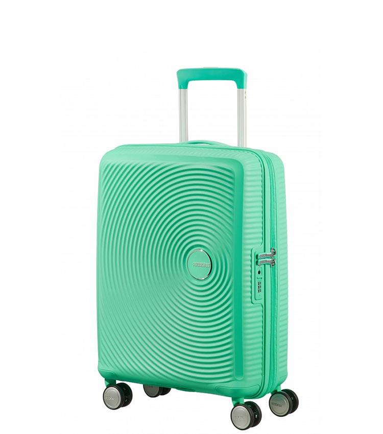 Малый чемодан American Tourister 32G*34001 Soundbox Spinner (55 см) ~ручная кладь~