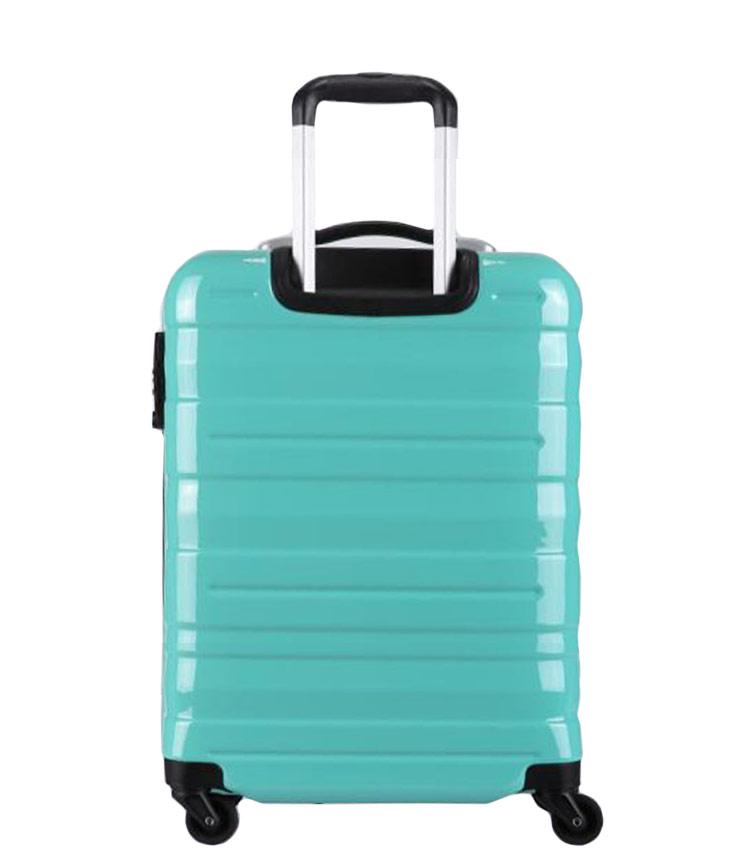 Средний чемодан спиннер Transworld 17192 green (69 см)