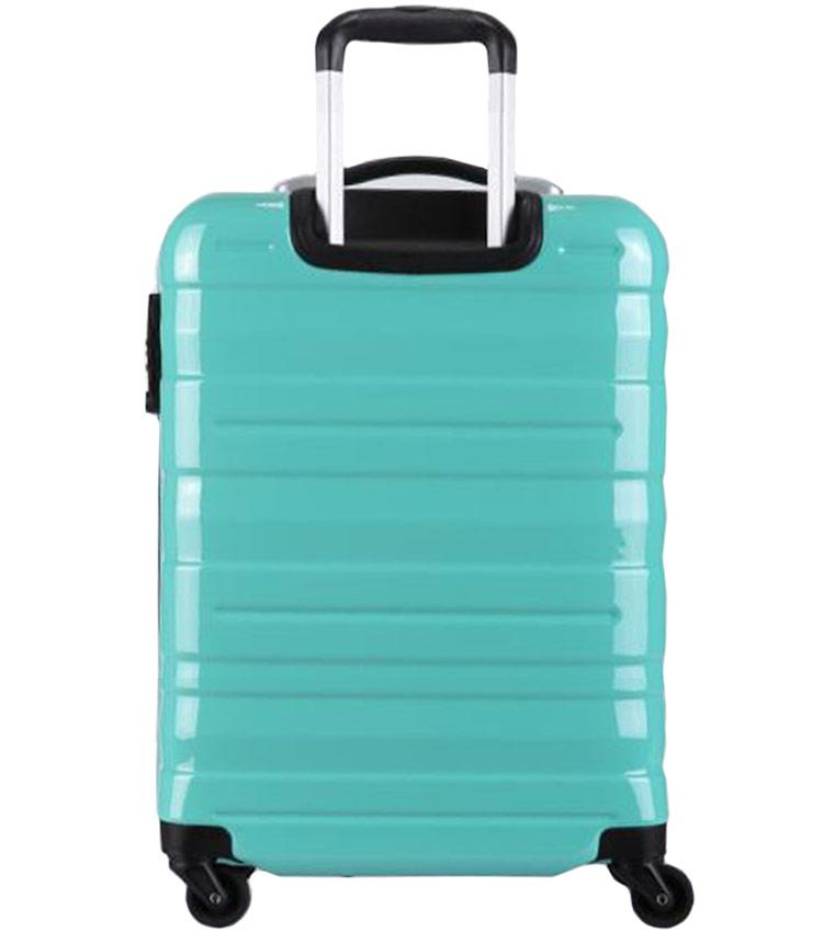 Большой чемодан спиннер Transworld 17192 green (78 см)