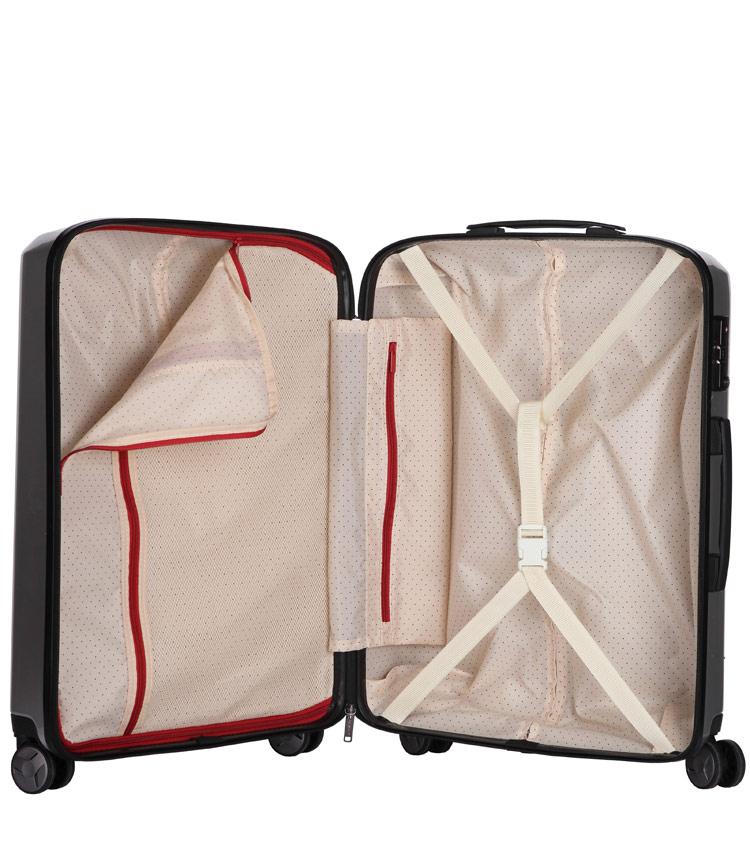 Большой чемодан спиннер Transworld 17230 blue (75 см)