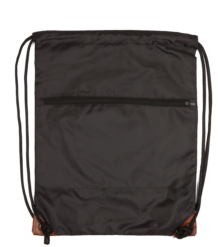 Сумка-рюкзак на шнурках TRUESPIN Gymsack-3 black