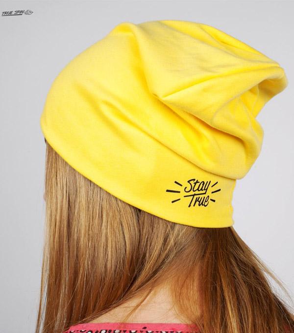 Шапка TrueSpin Jersey yellow