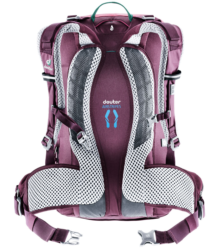 Рюкзак Deuter Trans Alpine 28 SL ruby-blackberry